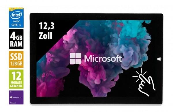 Microsoft Surface Pro 4 - 12,3 Zoll - Core i5-6300U @ 2,4 GHz - 4GB RAM - 128GB SSD - (2736x1824) - Touch - Win10Pro
