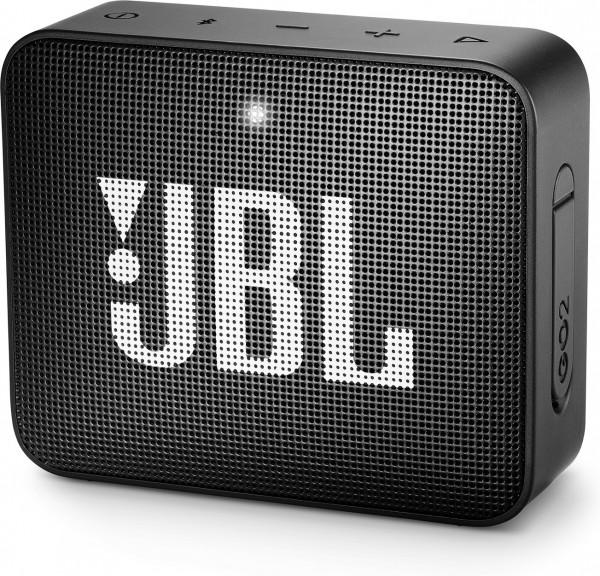 JBL GO 2 - tragbarer Bluetooth Lautsprecher - schwarz
