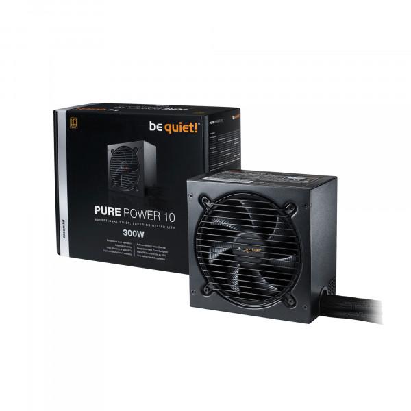 be quiet Pure Power 10 - 300W - PC-Netzteil - schwarz