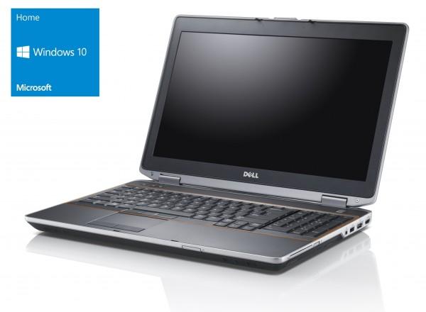 Dell E5520 - Core i5-2520M @ 2,5 GHz - 4GB RAM - 500GB HDD - DVD-RW - FHD - Win10Home