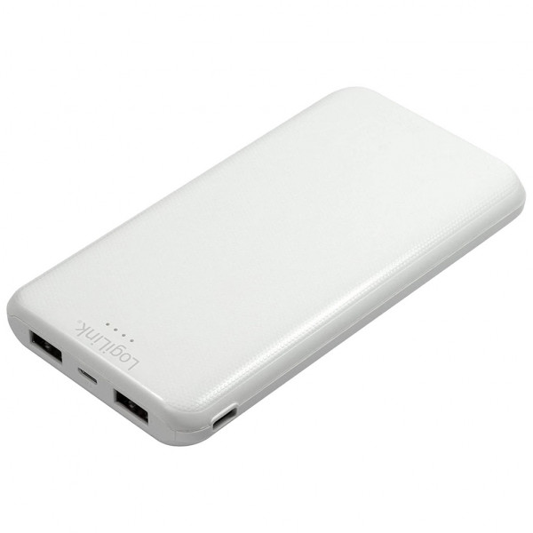 LogiLink Powerbank - 10000mAh - Weiß