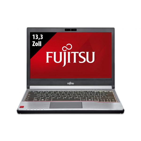 Fujitsu LifeBook E734 - 13,3 Zoll - Core i5-4300M @ 2,6 GHz - 8GB RAM - 180GB SSD - WXGA (1366x768) - Webcam - Win10Pro
