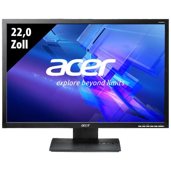 Acer V223W - 22,0 Zoll - WSXGA+ (1680x1050) - 5ms - schwarz