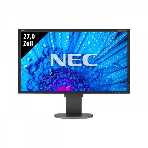NEC MultiSync EA275WMi-BK - 27,0 Zoll - WQHD (25601440) - 6ms - schwarz