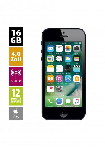 Apple iPhone 5 (16GB) - Black