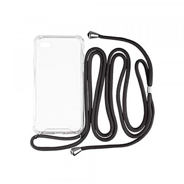 Hello Cable - Handykette für Apple iPhone 7/8 - Handyhülle - Schwarz