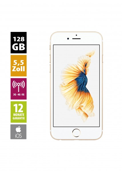 Apple iPhone 6s Plus (128GB) - Gold
