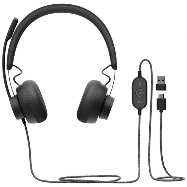 Logitech Zone Wired - Headset - für Unified Communication