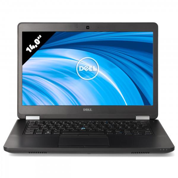 Dell Latitude E5470 - 14,0 Zoll - Core i5-6300U @ 2,4 GHz - 8GB RAM - 250GB SSD - FHD (1920x1080) - Webcam - Win10Home