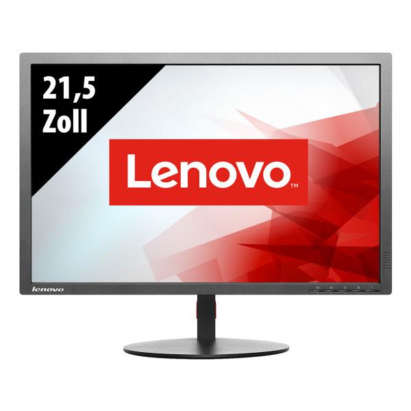 Lenovo ThinkVision T2254d - 21,5 Zoll -  FHD (1920x1080) - 4ms - schwarz