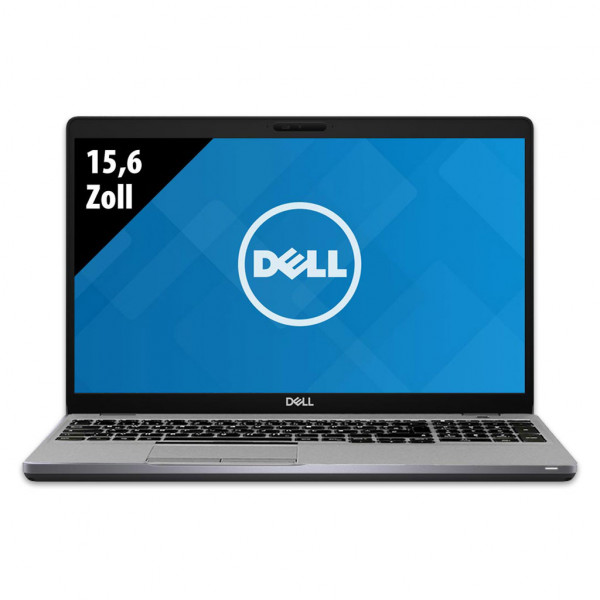 Dell Latitude 5510 - 15,6 Zoll - Core i5-10310U @ 1,7 GHz - 8GB RAM - 500GB SSD - FHD (1920x1080) - Webcam - Win10Pro