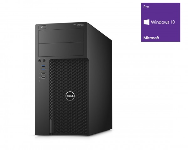 Dell Precision T3620 - Xeon E3-1245 v5 @ 3,5 GHz - 8GB RAM - 250GB SSD - Quadro M2000 - Win10Pro