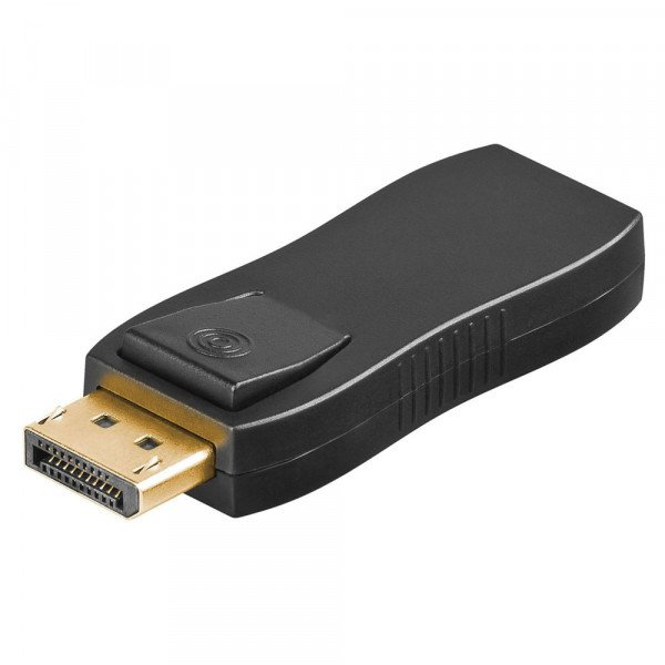 MicroConnect - DisplayPort auf HDMI Adapter - Schwarz