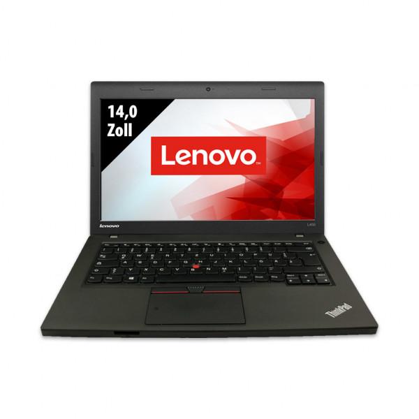 Lenovo ThinkPad L450 - 14,0 Zoll - Core i5-5300U @ 2,3 GHz - 8GB RAM - 500GB SSD - FHD (1920x1080) - Webcam - Win10Pro