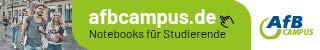 Notebooks nur für Studenten bei AfB Campus im Shop