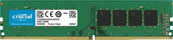 Crucial - 4 GB - DIMM - DDR4 - 2400MHz - CL17 - RAM
