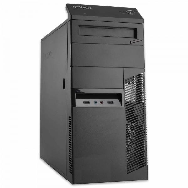Lenovo ThinkCentre M83 MT - Core i5-4430 @ 3,0 GHz - 8GB RAM - 250GB SSD - DVD-RW - Win10Home