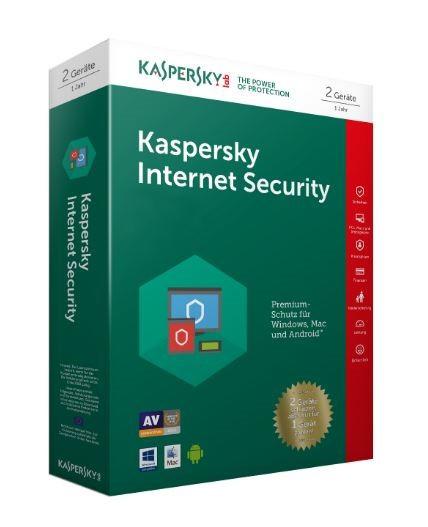 Kaspersky Internet Security 2er-Lizenz -Aktion-