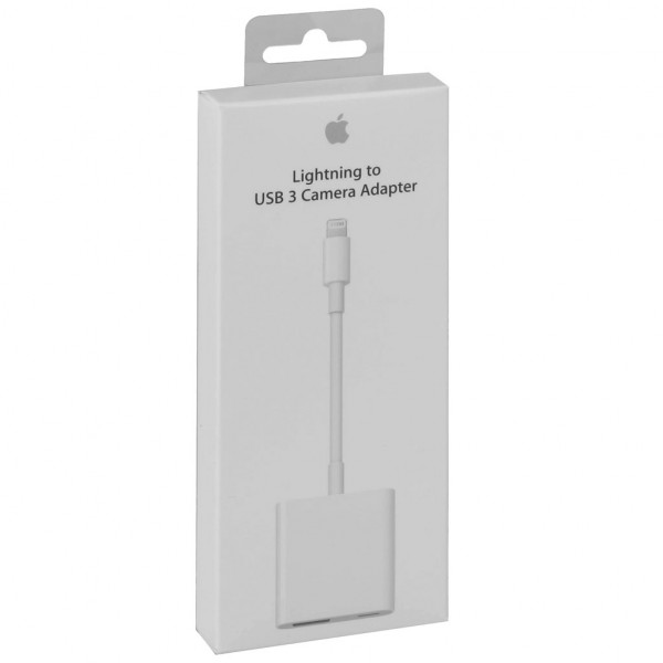 Apple Lightning auf USB 3 Kamera-Adapter (MK0W2ZM/A) - Weiß
