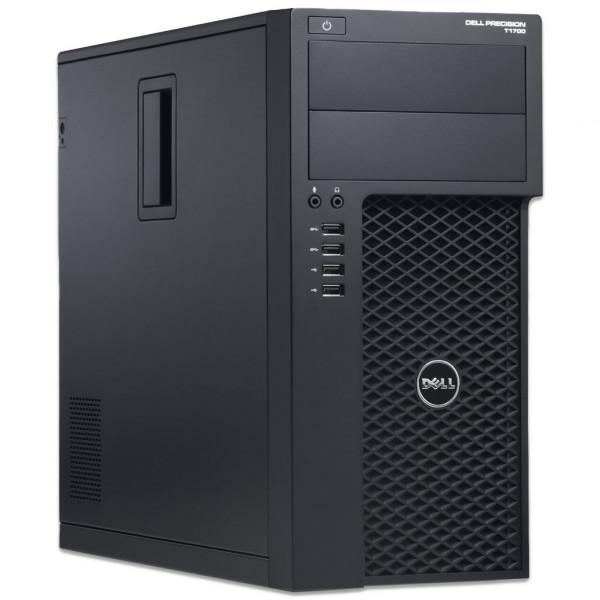 Dell Precision T1700 MT - Core i7-4770 @ 3,4 GHz- 8GB RAM - 250GB SSD - Win10Pro