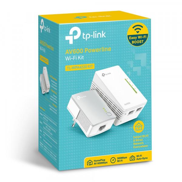 TP-LINK AV600-WLAN-Powerline-Extender KIT - 300Mbps