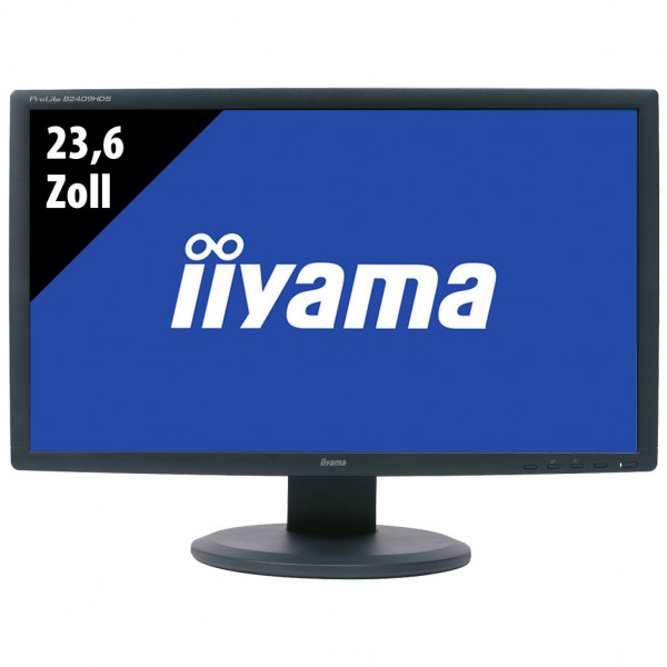 Iiyama Pro Lite B2409HDS-1 - 23,6 Zoll - FHD (1920x1080) - 2ms - schwarz