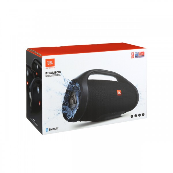 JBL Boombox - tragbarer Bluetooth Lautsprecher - schwarz