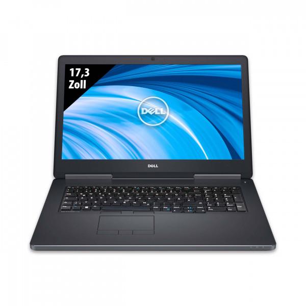 Dell Precision 7710 - 17,3 Zoll - Xeon E3-1505M v5 @ 2,8 GHz - 32GB RAM - 500GB SSD - Nvidia Quadro M3000M - FHD (1920x1080) - Webcam - Win10Pro