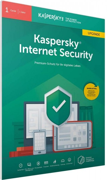Kaspersky Internet Security 2019 1er-Lizenz Upgrade