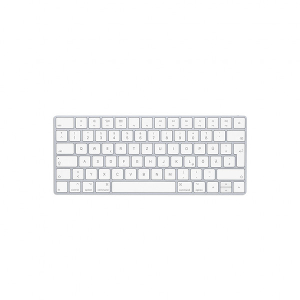 Apple Magic Keyboard (ohne Ziffernblock) - Funktastatur - silber