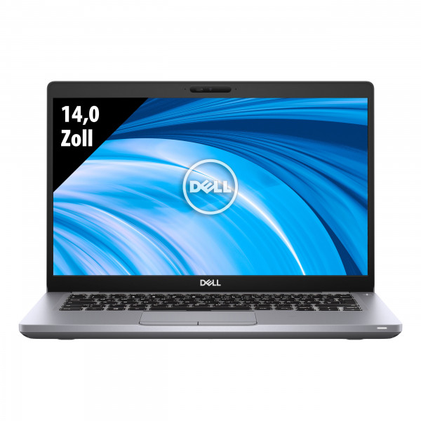 Dell Latitude 5410 - 14,0 Zoll - Core i5-10210U @ 1,6 GHz - 8GB RAM - 250GB SSD - FHD (1920x1080) - Webcam - Win10Pro