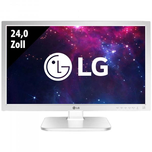 LG 24MB37PM-W - 24,0 Zoll - FHD (1920x1080) - 5ms - weiß