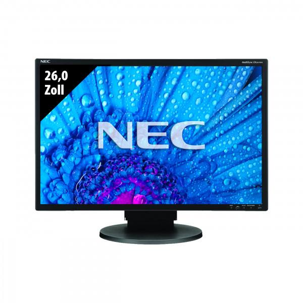 NEC MultiSync EA261WM-BK - 26,0 Zoll - WUXGA (1920x1200) - 5ms - schwarz