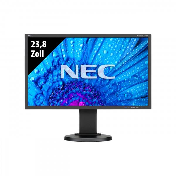 NEC MultiSync E243WMi - 23,8 Zoll - FHD (1920x1080) - 6ms - schwarz