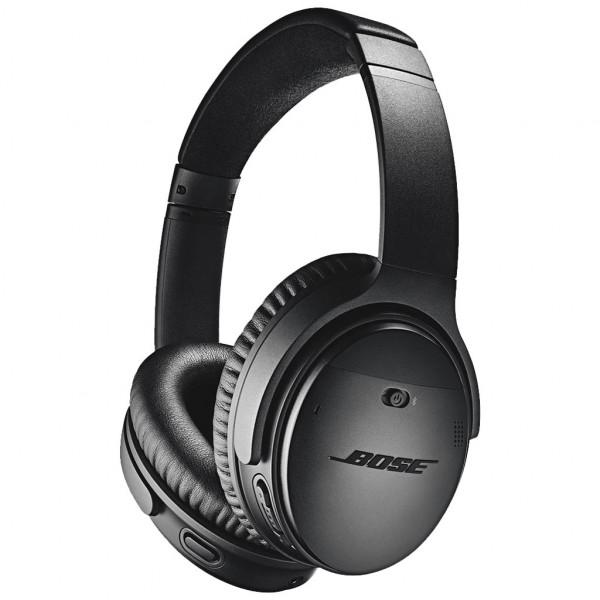 Bose QuietComfort 35 II Wireless - Over-ear Kopfhörer - mit Mikrofon - Bluetooth - Schwarz