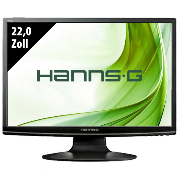 Hannspree HA222DPB - 22,0 Zoll - WSXGA+ (1680x1050) - 5ms - schwarz