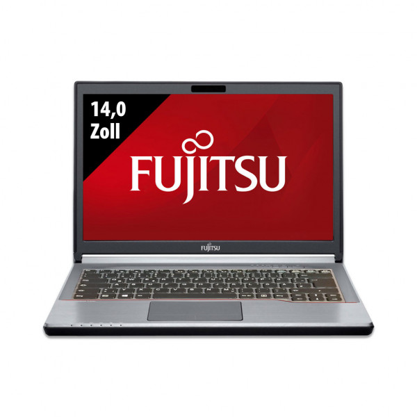 Fujitsu LifeBook E744 - 14,0 Zoll - Core i5-4300M @ 2,6 GHz - 8GB RAM - 500GB SSD - WSXGA (1600x900) - Win10Pro