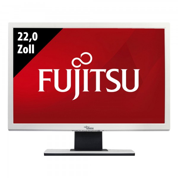 Fujitsu LCD Display B22W-5 ECO - 22,0 Zoll - WSXGA+ (1680x1050) - 5ms - weiß