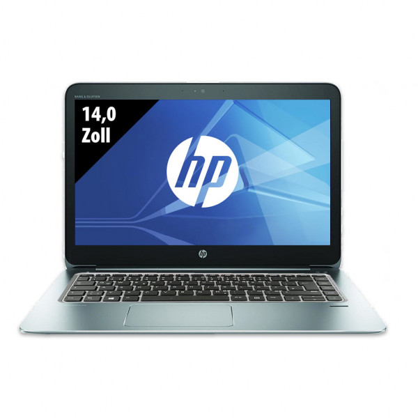 HP EliteBook Folio 1040 G3 - 14,0 Zoll - Core i7-6500U @ 2,5 GHz - 8GB RAM - 500GB SSD - QHD (2560x1440) - Webcam - Win10Pro