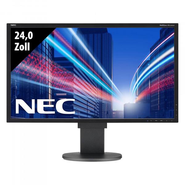 NEC MultiSync EA244WMi - 24,0 Zoll - WUXGA (1920x1200) - 6ms - schwarz