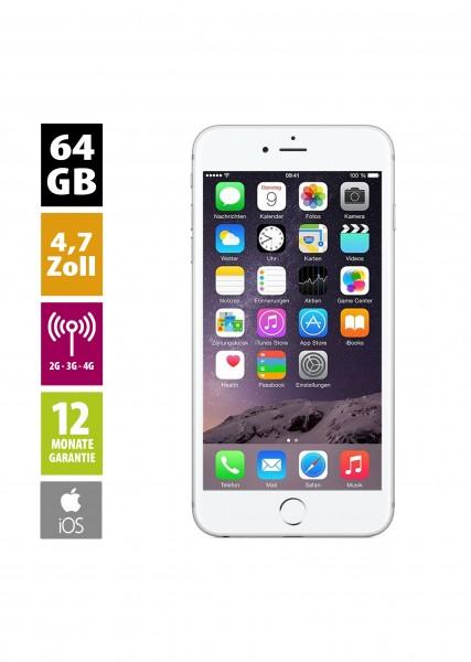 Apple iPhone 6 (64GB) - Silver