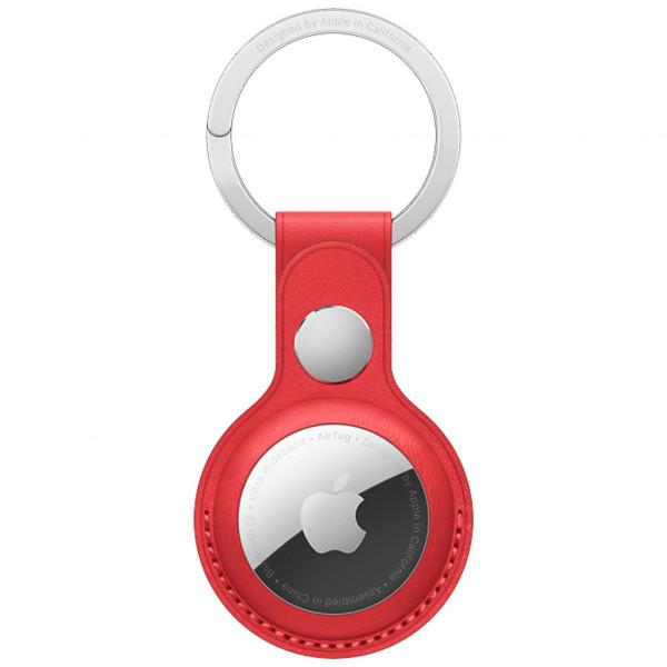 Apple AirTag Schlüsselanhänger - Echtleder - (PRODUCT)RED