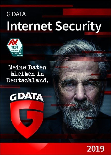 G Data Internet Security 2019 1 PC / 1 Jahr