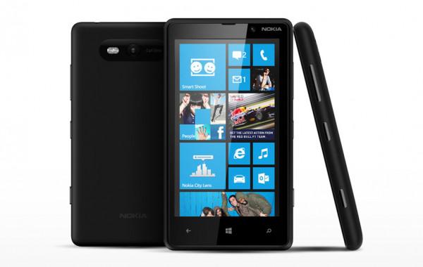 Nokia Lumia 820.1 schwarz