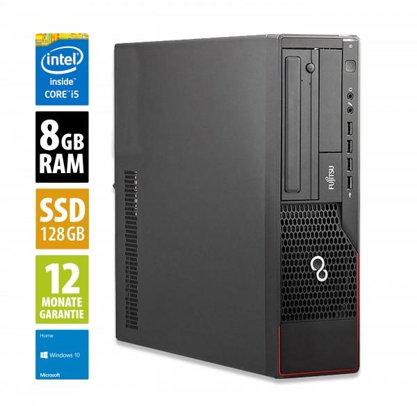 Fujitsu Esprimo E900 DT - Core i5-2400 @ 3,1 GHz - 8GB RAM - 128GB SSD - DVD-ROM - Win10Home