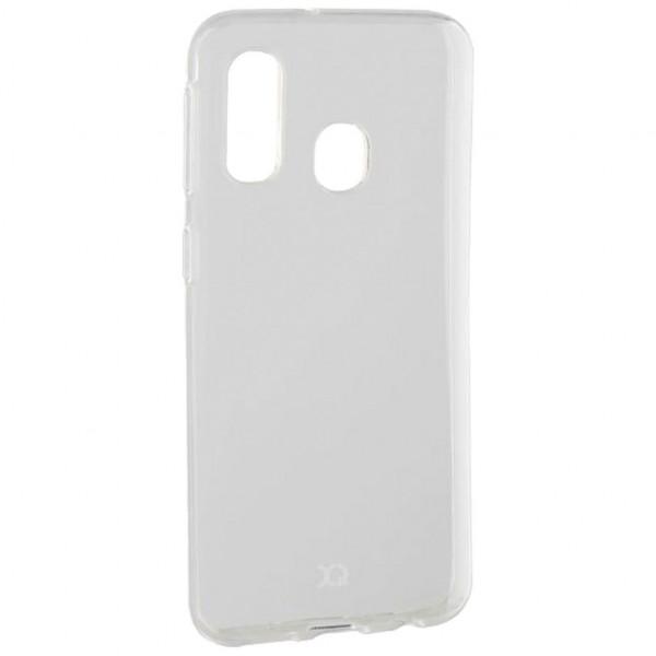 Xqisit Flex Case Cover - Handyhülle (Samsung Galaxy A40) - Transparent