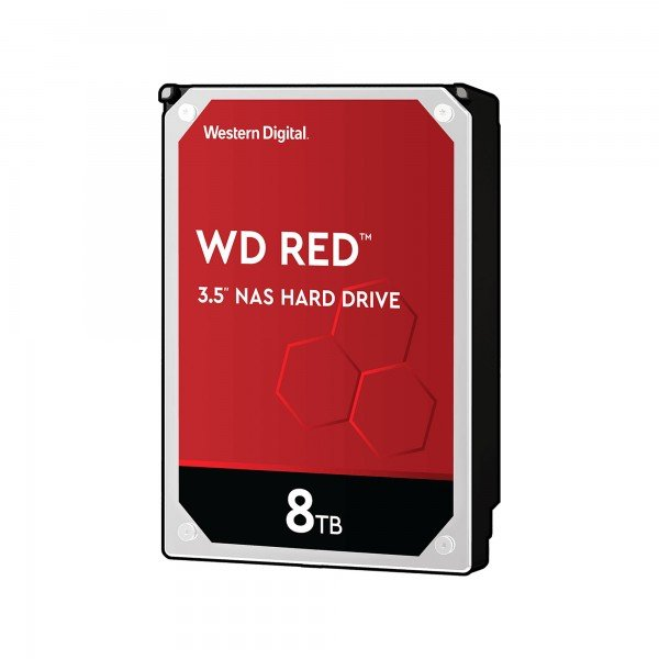 Western Digital Red NAS Hard Drive - 8 TB - HDD - 3,5 Zoll