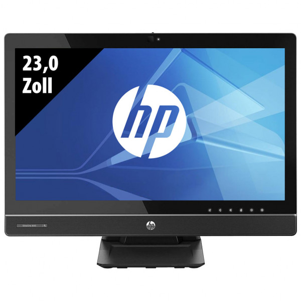 HP EliteOne 800 G1 - All-in-One-PC - 23,0 Zoll - Core i5-4570S @ 2,9 GHz - 8GB RAM - 250GB SSD - DVD-RW - FHD (1920x1080) - Webcam - Win10Home