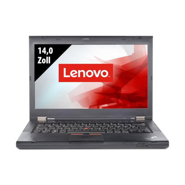 Lenovo ThinkPad T430 - 14,0 Zoll - Core i5-3320M @ 2,6 GHz - 4GB RAM - 128GB SSD - DVD-RW - WXGA (1366x768) - Webcam - Win10Home