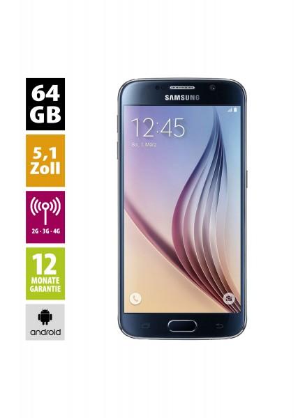 Samsung Galaxy S6 (64GB) - black-sapphire